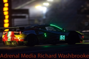 Gianmaria Bruni (ITA) / Toni Vilander (FIN) drivers of car #51 LMGTE PRO AF Corse (ITA) Ferrari F458 Italia FIA WEC 6 hours race of the 6 hours of the Circuit of the Americas - Austin - Texas - USA