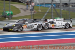 Timo Bernhard (DEU) / Mark Webber (AUS) / Brendon Hartley (NZL) drivers of car #20 LMP1 Porsche Team (DEU) Porsche 919 Hybrid Free Practice #3 - FIA WEC 6 hours race of the 6 hours of the Circuit of the Americas - Austin - Texas - USA