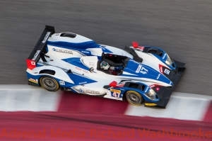 Matthew Howson (GBR) / Richard Bradley (GBR) / Tsugio Matsuda (JPN) drivers of car #47 LMP2 KCMG (HKG) Oreca 03-Nissan