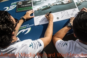 Autograph Session of the 6 hours of the Circuit of the Americas - Austin - Texas - USA