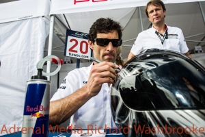 Mark Webber (AUS) driver of car #20 LMP1 Porsche Team (DEU) Porsche 919 Hybrid Autograph Session of the 6 hours of the Circuit of the Americas - Austin - Texas - USA