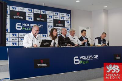 Drivers Briefing at Fuji Speedway - Shizuoka Prefecture - Japan