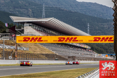 DHL Banner  Free Practice 1 at Fuji Speedway - Shizuoka Prefecture - Japan