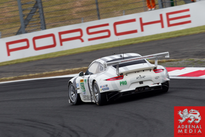 Patrick Pilet (DEU) / Frederic Makowiecki (FRA) / drivers of car #92 LMGTE PRO Porsche Team Manthey (DEU) Porsche 911 RSR Free Practice 2 at Fuji Speedway - Shizuoka Prefecture - Japan