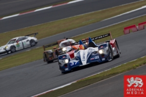 Kirill Ladygin (RUS) / Viktor Shaitar (RUS) / Anton Ladygin (RUS) / drivers of car #37 LMP2 SMP Racing (RUS) Oreca 03-Nissan Practice 3 at Fuji Speedway - Shizuoka Prefecture - Japan