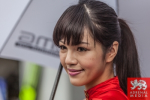 Grid Girls - Pit Walk and Autograph Session for the fans at Fuji Speedway - Shizuoka Prefecture - Japan