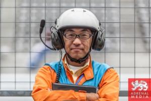 Pit Marshall at Fuji Speedway - Shizuoka Prefecture - Japan