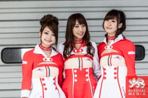 Fuji Girls - Pit Walk and Autograph Session for the fans at Fuji Speedway - Shizuoka Prefecture - Japan
