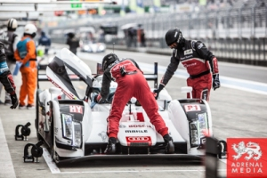 Audi Pit Lane Ambience Qualifying  at Fuji Speedway - Shizuoka Prefecture - Japan