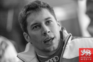 Loic Duval Media Interviews with drivers at Fuji Speedway - Shizuoka Prefecture - Japan