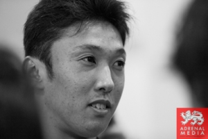 Kazuki Nakajima Media Interviews with drivers at Fuji Speedway - Shizuoka Prefecture - Japan