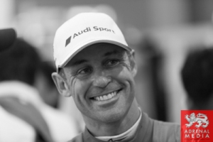 Tom Kristensen Media Interviews with drivers at Fuji Speedway - Shizuoka Prefecture - Japan