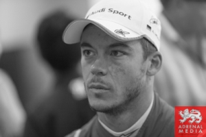 Andre Lotterer Media Interviews with drivers at Fuji Speedway - Shizuoka Prefecture - Japan