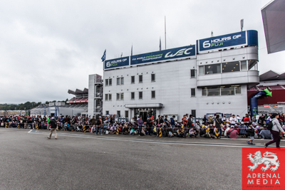 Pit Walk opening for the fans at Fuji Speedway - Shizuoka Prefecture - Japan