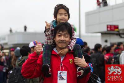 Pit walk and Autograph for the fans at Fuji Speedway - Shizuoka Prefecture - Japan