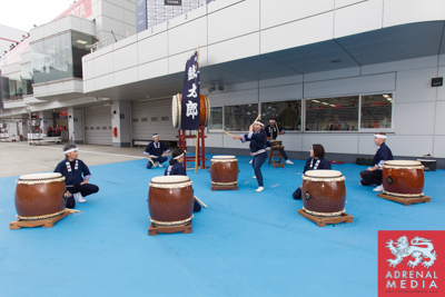 Drummers Grid Walk at Fuji Speedway - Shizuoka Prefecture - Japan