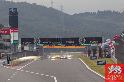Start of the race at Fuji Speedway - Shizuoka Prefecture - Japan