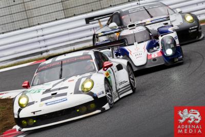 Anthony Davidson (GBR) / Nicolas Lapierre (FRA) / Sebastien Buemi (CHE) / drivers of car #8 LMP1 Toyota Racing (JPN) Toyota TS 040 - Hybrid at Fuji Speedway - Shizuoka Prefecture - Japan