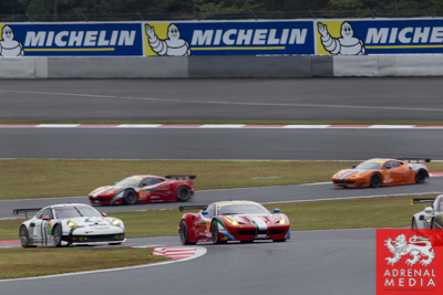 Michelin Banner at Fuji Speedway - Shizuoka Prefecture - Japan