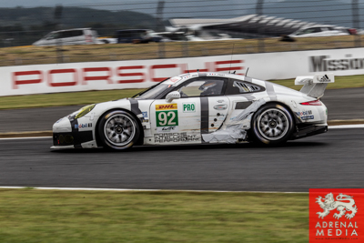 Patrick Pilet (DEU) / Frederic Makowiecki (FRA) / drivers of car #92 LMGTE PRO Porsche Team Manthey (DEU) Porsche 911 RSR at Fuji Speedway - Shizuoka Prefecture - Japan