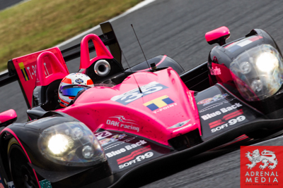 Keiko Lhara (JPN) / Gustavo Yacaman (COL) Alex Brundle (GBR) / drivers of car #35 LMP2 OAK RACING (FRA) Morgan - Judd at Fuji Speedway - Shizuoka Prefecture - Japan