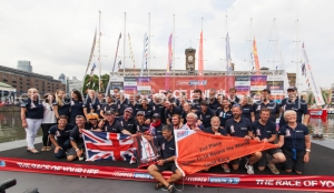 Pyro1 - Clipper Round the World Race, St Katherine Docks  12th July 2014