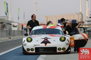 Francois Perrodo (FRA) / Emmanuel Collard (FRA) / Matthieu Vaxiviere (FRA) / Car #75 LMGTE AM Prospeed Competition (BEL) Porsche 911 GT3 RSR - 6 Hours of Bahrain at Bahrain International Circuit (BIC) - Sakhir - Kingdom of Bahrain