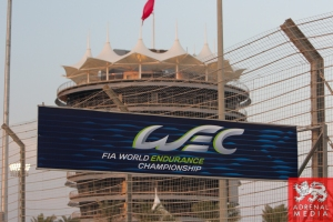 View of the circuit  WEC banner6 - 6 Hours of Bahrain at Bahrain International Circuit (BIC) - Sakhir - Kingdom of Bahrain