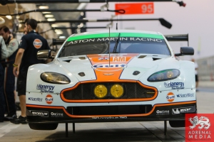 Paul Dalla Lana (CAN) / Pedro Lamy (PRT) / Christoffer Nygaard (DNK) / Car #98 LMGTE AM Aston Martin Racing (GBR) Aston Martin Vantage V8 - 6 Hours of Bahrain at Bahrain International Circuit (BIC) - Sakhir - Kingdom of Bahrain