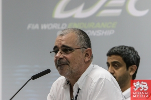 Drivers Briefing  Eduardo Freitas FIA Race Director - 6 Hours of Bahrain at Bahrain International Circuit (BIC) - Sakhir - Kingdom of Bahrain