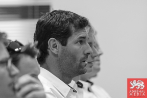 Drivers Briefing  Mark Webber (AUS) - 6 Hours of Bahrain at Bahrain International Circuit (BIC) - Sakhir - Kingdom of Bahrain