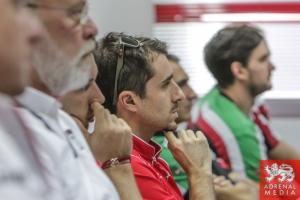 Drivers Briefing Nicolas Prost (FRA) - 6 Hours of Bahrain at Bahrain International Circuit (BIC) - Sakhir - Kingdom of Bahrain