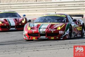 Gianmaria Bruni (ITA) / Toni Vilander (FIN) / Car #51 LMGTE PRO AF Corse (ITA) Ferrari F458 Italia - 6 Hours of Bahrain at Bahrain International Circuit (BIC) - Sakhir - Kingdom of Bahrain
