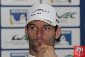 Pre Event Press Conference  Mark Webber - 6 Hours of Bahrain at Bahrain International Circuit (BIC) - Sakhir - Kingdom of Bahrain