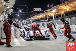 Lucas Di Grassi (BRA) / Loic Duval (FRA) / Tom Kristensen (DNK) / Car #1 LMP1 Audi Sport Team Joest (DEU) Audi R18 e-tron quattro - 6 Hours of Bahrain at Bahrain International Circuit (BIC) - Sakhir - Kingdom of Bahrain
