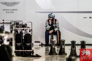 Aston Martin Garage Ambience - 6 Hours of Bahrain at Bahrain International Circuit (BIC) - Sakhir - Kingdom of Bahrain