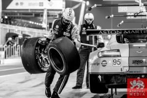 Kristian Poulsen (DNK) / David Heinemeier Hansson (DNK) / Nicki Thiim (DNK) / Car #95 LMGTE AM Aston Martin Racing (GBR) Aston Martin Vantage V8 - 6 Hours of Bahrain at Bahrain International Circuit (BIC) - Sakhir - Kingdom of Bahrain