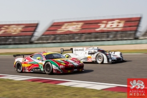 Davide Rigon (ITA) / James Calado (GBR) / Car #71 LMGTE PRO AF Corse (ITA) Ferrari F458 Italia Race - 6 Hours of Shanghai at Shanghai International Circuit - Shanghai - China