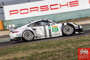 Patrick Pilet (DEU) / Frederic Makowiecki (FRA) / Car #92 LMGTE PRO Porsche Team Manthey (DEU) Porsche 911 RSR Race - 6 Hours of Shanghai at Shanghai International Circuit - Shanghai - China