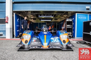 Paul-Loup Chatin (FRA) / Nelson Panciatici (FRA) / Oliver Webb (GBR) drivers of car #36 SIGNATECH ALPINE  (FRA) Alpine A450b - Nissan   at Circuito Estoril - Cascais - Portugal