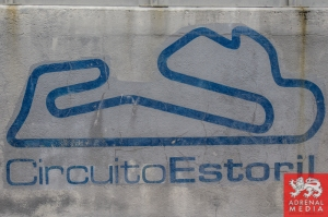 Pit Wall CircuitoEstoril Branding at Circuito Estoril - Cascais - Portugal