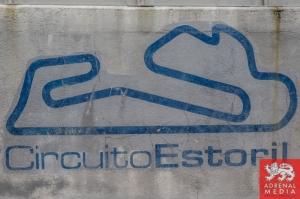 Pit Wall CircuitoEstoril Branding at Circuito Estoril - Cascais - Portugal