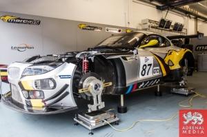 Bas Leinders (BEL) / Markus Paltalla (FIN) / Henry Hassid (FRA) drivers of car #87 BMW SPORT TROPHY MARC VDS  (BEL) BMW Z4 GT3 at Circuito Estoril - Cascais - Portugal