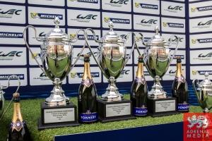 Podium Race Trophies - 6 Hours of Shanghai at Shanghai International Circuit - Shanghai - China