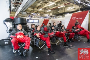 Audi Pits Race - 6 Hours of Shanghai at Shanghai International Circuit - Shanghai - China
