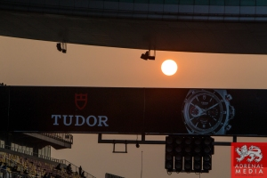 Sun going down in the pit lane Race - 6 Hours of Shanghai at Shanghai International Circuit - Shanghai - China