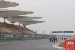 Teams walking the Shanghai Track - 6 Hours of Shanghai at Shanghai International Circuit - Shanghai - China