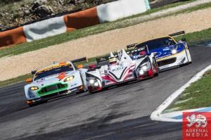 Simon Dolan (GBR) / Harry Tincknell (GBR) / Filipe Albuquerque (PRT) drivers of car #38 JOTA SPORT  (GBR) Zytek Z11SN - Nissan Free Practice 1 at Circuito Estoril - Cascais - Portugal
