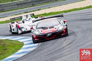 Ricardo Gonzalez (MEX) / Karim Ajlani (CHE) / Alex Brundle (GBR) drivers of car #99 ART GRAND PRIX  (FRA) McLaren MP4 12C GT3 Free Practice 2 at Circuito Estoril - Cascais - Portugal