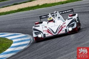 Simon Dolan (GBR) / Harry Tincknell (GBR) / Filipe Albuquerque (PRT) drivers of car #38 JOTA SPORT  (GBR) Zytek Z11SN - Nissan Free Practice 2 at Circuito Estoril - Cascais - Portugal